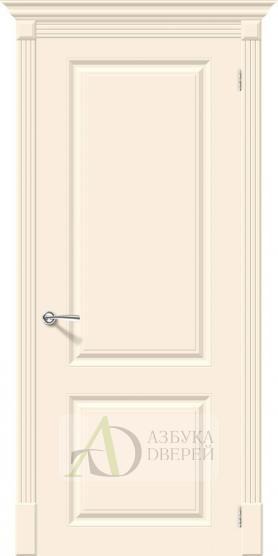Межкомнатная эмалированная дверь Скинни-12 Cream