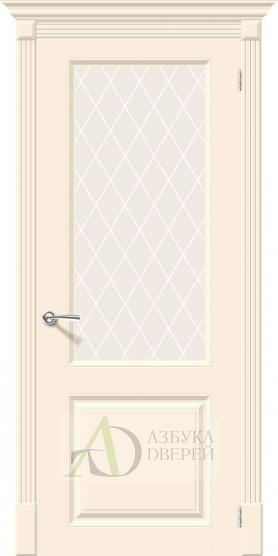 Межкомнатная эмалированная дверь Скинни-13 Cream