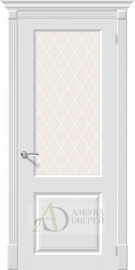 Межкомнатная эмалированная дверь Скинни-13 Whitey