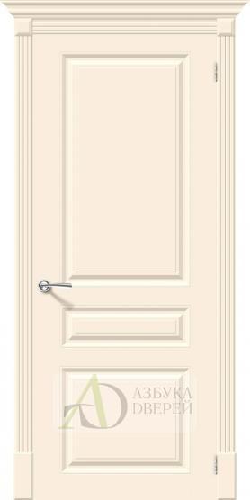Межкомнатная эмалированная дверь Скинни-14 Cream