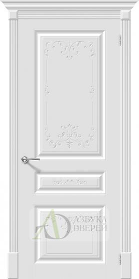 Межкомнатная эмалированная дверь Скинни-14 Аrt Whitey