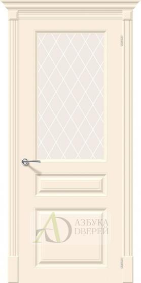 Межкомнатная эмалированная дверь Скинни-15.1 Cream
