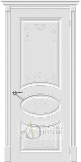 Межкомнатная эмалированная дверь Скинни-20 Аrt Whitey