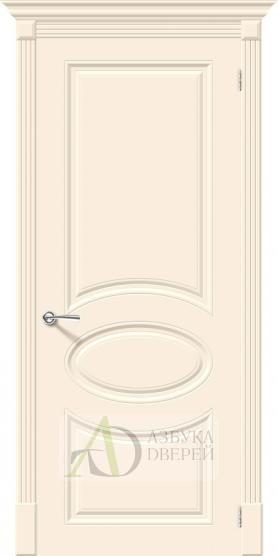 Межкомнатная эмалированная дверь Скинни-20 Cream