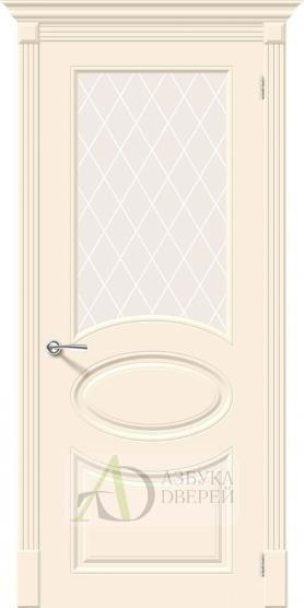 Межкомнатная эмалированная дверь Скинни-21 Cream