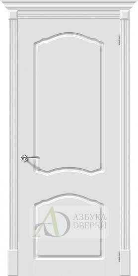 Межкомнатная эмалированная дверь Скинни-30 Whitey