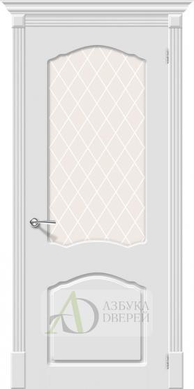 Межкомнатная эмалированная дверь Скинни-31 Whitey