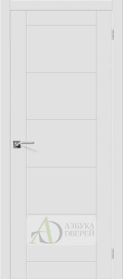 Межкомнатная эмалированная дверь Скинни-4 Whitey