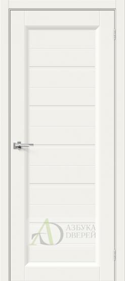 Межкомнатная эмалированная дверь Скинни-51 Base Line Whitey