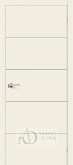 Межкомнатная дверь с ПВХ-пленкой Граффити-2 Белый