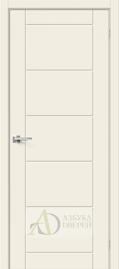 Межкомнатная дверь с ПВХ-пленкой Граффити-4 Белый