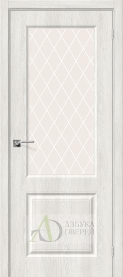 Межкомнатная дверь с ПВХ-пленкой Скинни-13 Casablanca