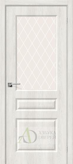 Межкомнатная дверь с ПВХ-пленкой Скинни-15 Casablanca