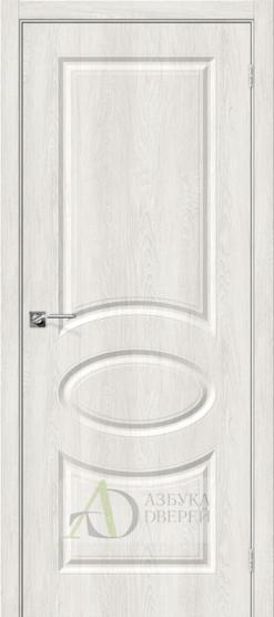 Межкомнатная дверь с ПВХ-пленкой Скинни-20 Casablanca