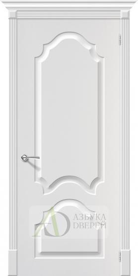 Межкомнатная дверь с ПВХ-пленкой Скинни-32 П-24 (Белый)