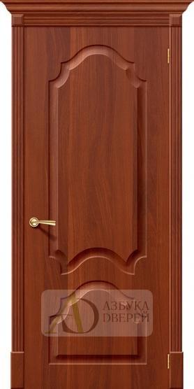 Межкомнатная дверь с ПВХ-пленкой Скинни-32 П-31 (ИталОрех)