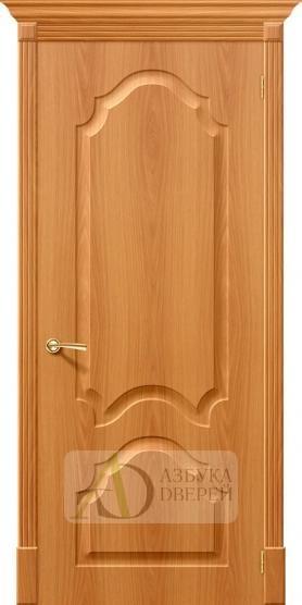 Межкомнатная дверь с ПВХ-пленкой Скинни-32 П-32 (МиланОрех)