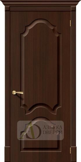 Межкомнатная дверь с ПВХ-пленкой Скинни-32 П-33 (Венге)