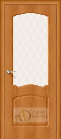 Межкомнатная дверь с ПВХ-пленкой Альфа-2 Milano Vero