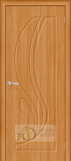 Межкомнатная дверь с ПВХ-пленкой Лотос ПГ миланский орех