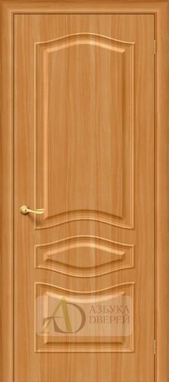 Межкомнатная дверь с ПВХ-пленкой Модена ПГ миланский орех