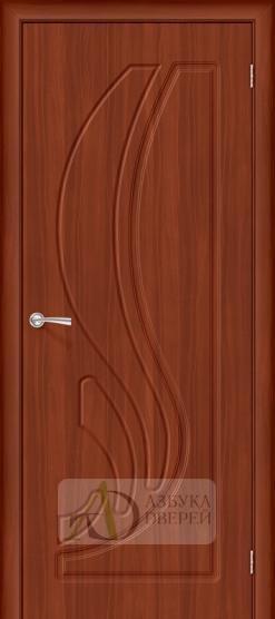 Межкомнатная дверь с ПВХ-пленкой Лотос ПГ итальянский орех