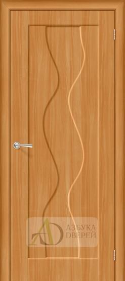 Межкомнатная дверь с ПВХ-пленкой Вираж ПГ миланский орех
