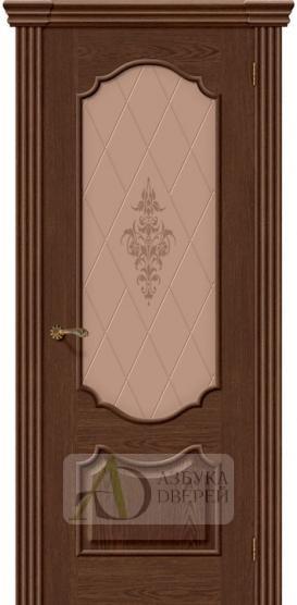 Межкомнатная шпонированная дверь Париж ПО Виски