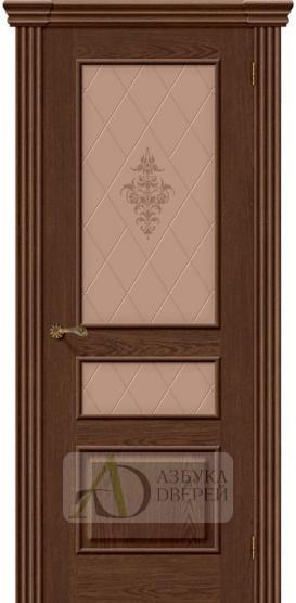 Межкомнатная шпонированная дверь Сорренто ПО Виски