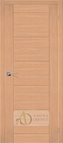 Межкомнатная шпонированная дверь Граффити-4 дуб файн-лайн