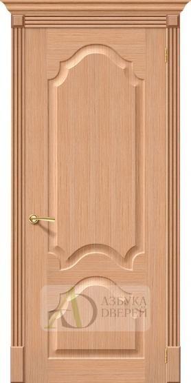 Межкомнатная шпонированная дверь Афина ПГ дуб файн-лайн