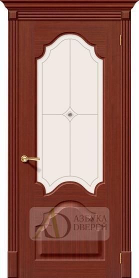 Межкомнатная шпонированная дверь Афина ПО макоре файн-лайн
