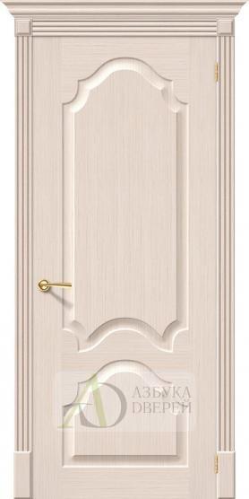 Межкомнатная шпонированная дверь Афина ПГ БелДуб