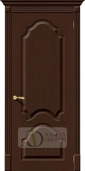 Межкомнатная шпонированная дверь Афина ПГ Венге