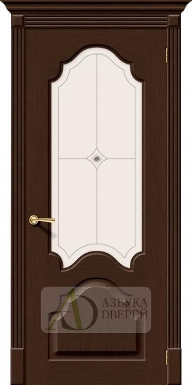 Межкомнатная шпонированная дверь Афина ПО Венге