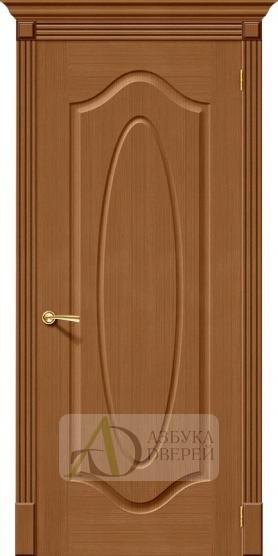 Межкомнатная дверь Аура ПГ Ф-11 (Орех)