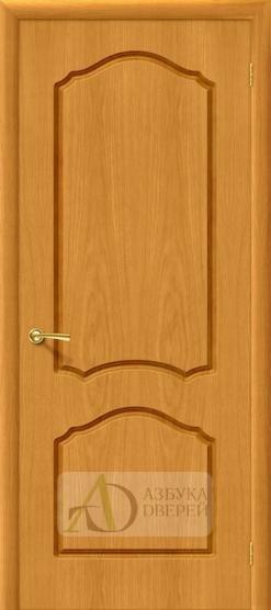 Межкомнатная шпонированная дверь Каролина ПГ Дуб Натуральный