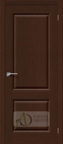 Межкомнатная шпонированная дверь Статус-12 Венге