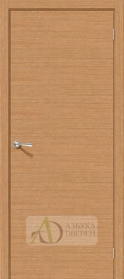Межкомнатная шпонированная дверь Соло-0.H Дуб