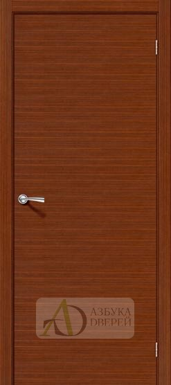 Межкомнатная шпонированная дверь Соло-0.H Макоре