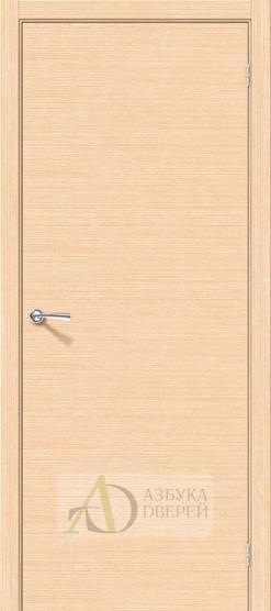 Межкомнатная шпонированная дверь Соло-0.H БелДуб