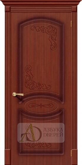 Межкомнатная дверь Азалия ПГ Макоре. Шпон