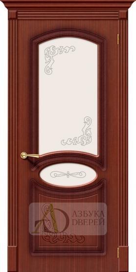 Межкомнатная шпонированная дверь Азалия ПО Макоре