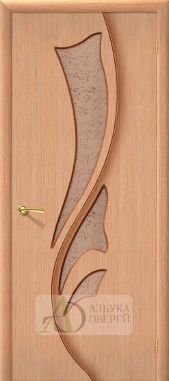 Межкомнатная шпонированная дверь Эксклюзив Дуб файн-лайн