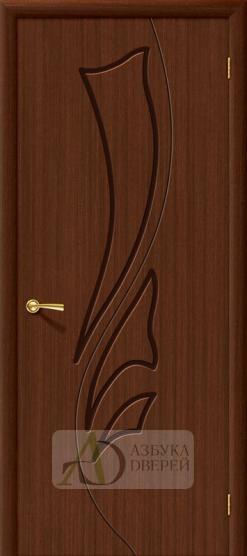 Межкомнатная шпонированная дверь Эксклюзив ПГ Шоколад