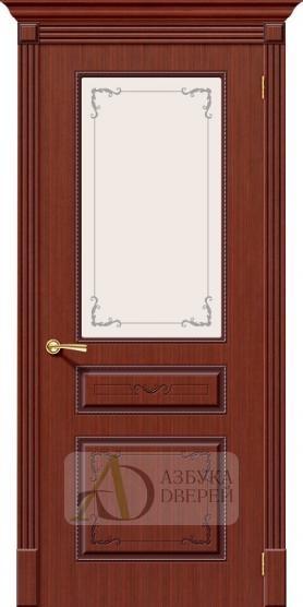 Межкомнатная шпонированная дверь Классика ПО Макоре