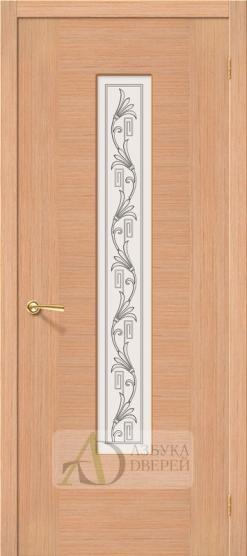 Межкомнатная шпонированная дверь Рондо ПО Дуб
