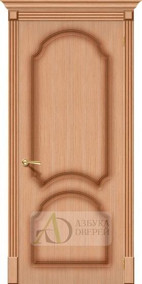Межкомнатная шпонированная дверь Соната ПГ Дуб файн-лайн