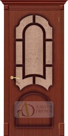 Межкомнатная шпонированная дверь Соната ПО Макоре