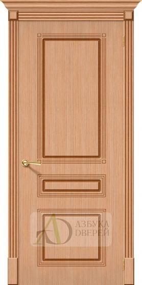 Межкомнатная шпонированная дверь Стиль ПГ Дуб